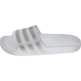 adidas Adilette Aqua Sandalias Hombre, footwear white/platin metal/footwear white